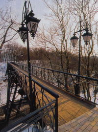Чертов мост (или мост Любви) в Киеве