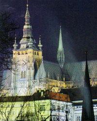 Кафедральный собор св. Витта знаменит тем, что в нем короновались тридцать чешских королей!