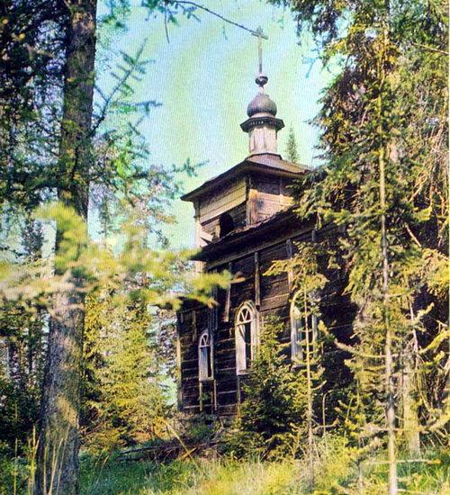 Святой остров. Церковь Александра Свирского. 1855 г.
