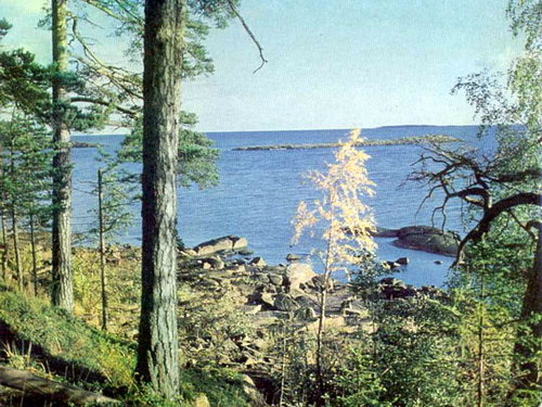Валаамский пейзаж