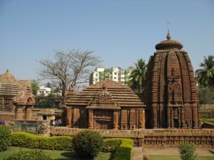 Город храмов Бхубанешвар